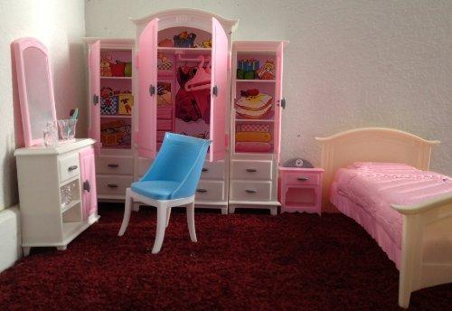 Barbie Bedroom Set - 5