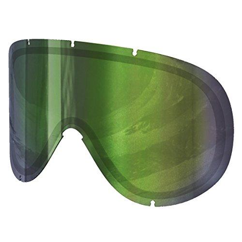 POC Retina Écran pour Masque de Ski Mixte Persimmon/Green Mirror