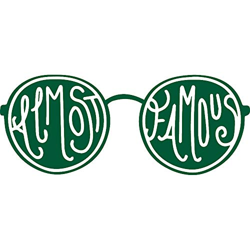 NBFU DECALS Almost Famous (Green) (Set of 2)