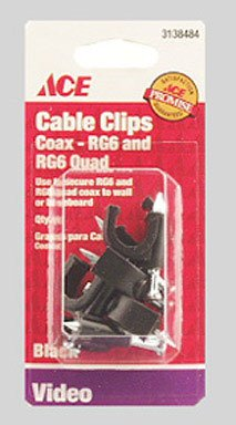 (Ace Nail-in Rg6 Coax Cable Clips)