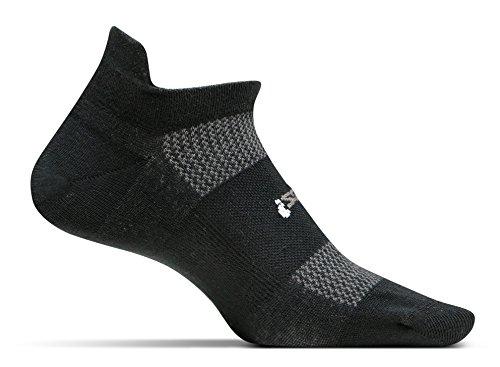 Price comparison product image Feetures! Men's High Performance Cushion No Show Tab,  Black,  Medium