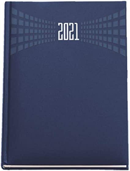 Agenda 2020 settimanale 17x24 cm copertina matra settimana su 2 pagine colorate Cielo