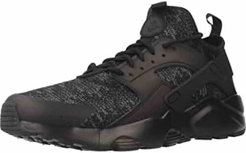 e9bc79ef73caa5 NIKE 875841-006 Men Air Huarache Run Ultra SE Black Black-Dark Grey
