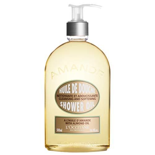 L'Occitane Cleansing & Softening Almond Shower Oil, 16.9 Fl. oz.
