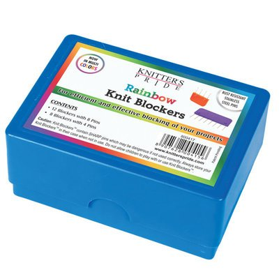 Knitter's Pride KP800417 Rainbow Knit Blockers-Package of 20