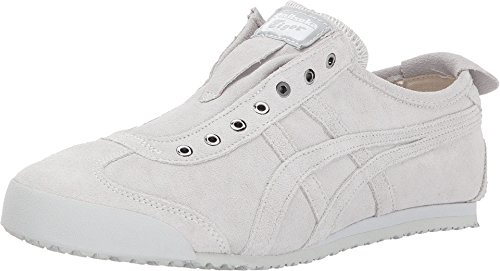b4a15172fc452 Galleon - Onitsuka Tiger By Asics Unisex Mexico 66 Slip-On Glacier ...