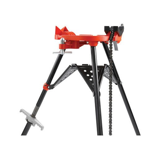 RIDGID 36273 Model 460-6 Portable TRISTAND Chain Vise, 1/8-inch to 6-inch Pipe Vise