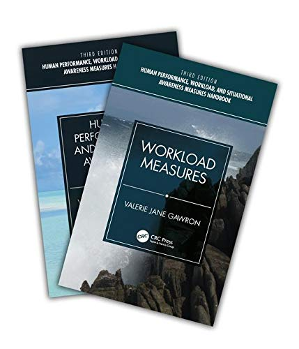 Human Performance, Workload, and Situational Awareness Measures Handbook, Third Edition - 2-Volume Set-cover