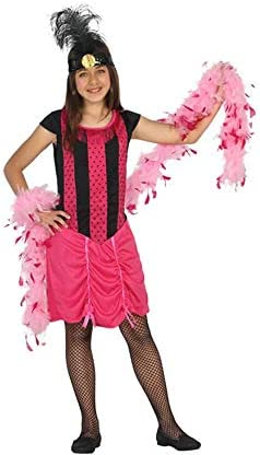 Atosa-20805 Disfraz Cabaret, color fucsia, 3 a 4 años (20805 ...