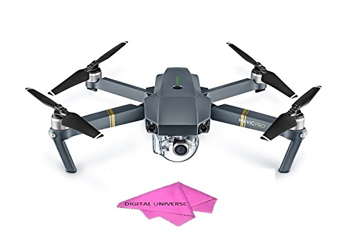 DJI Mavic Pro DRONE With Digital Universe Cleaning Cloth by DigitalUniverse