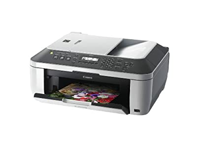 Canon PIXMA MX320 - Multifunction (fax/copier/printer/scanner) color inkjet - copying (up to): 5.5 ppm (mono) / 2.2 ppm (color) - printing (up to): 7.5 ppm (mono) / 4.5 ppm (color) - 100 sheets - 33.6 Kbps - Hi-Speed USB