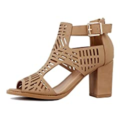606e1a6f7bb Mid Chunky Heel Buckle Shoes - Casual Women s Shoes