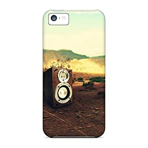 High-end Cases Covers Protector For Iphone 5c(box Music)