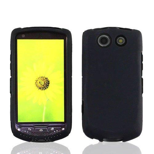 Kyocera Brigadier E6782, Black Hard Case Cover, Lf Stylus Pen & Droid Wiper Accessory (Black)