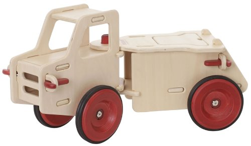 HABA Moover Dump Truck, Natural Wood by HABA