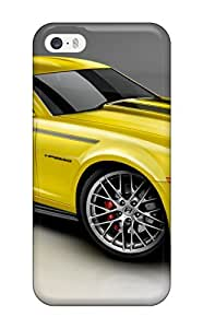 New Style Iphone 5/5s Well-designed Hard Case Cover 2010 Camero Yellow Protector 4110998K85059357