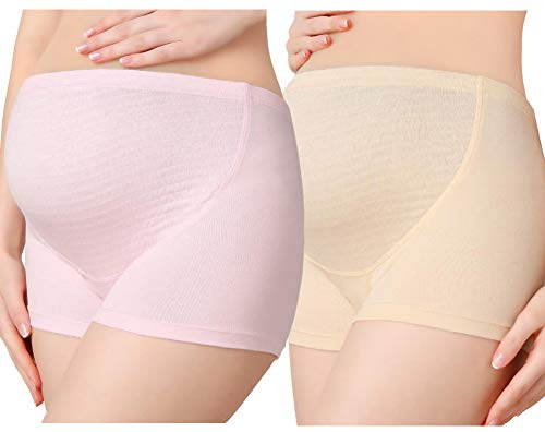 24e00b732216 Rysly Over The Bump Adjustable Waistline Cotton Support Maternity Panties  Comfy Pregnancy Underwear