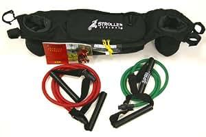 Bob Stroller Strides Fitness Kit for Duallie Strollers, Black
