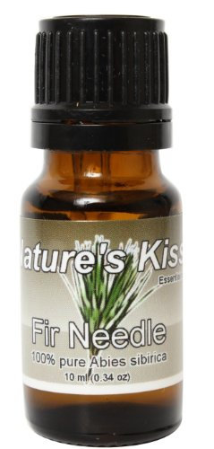 Nature's Kiss 100-Percent Pure Extremely Therapeutic Grade Fir Needle Essential Oil, 0.34-Ounce (White Fir Oil compare prices)