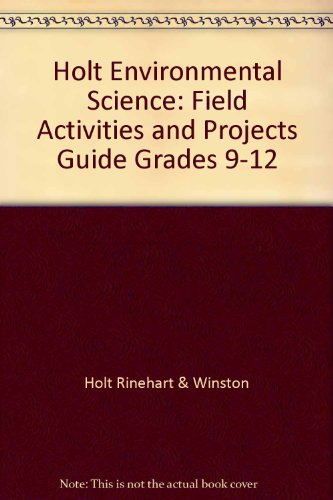 Environmental Science: Field Activities and Projects Guide