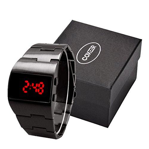 Retro Polish Stainless Digital Watches