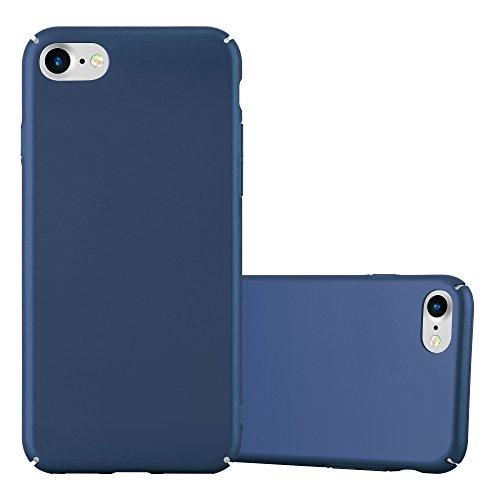 Cadorabo - Hard Cover Protección para >                          Apple iPhone 8 / 7 / 7S                          < con Efecto Metálico Mate