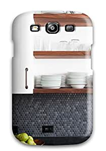 New Arrival Premium S3 Case Cover For Galaxy (dish Storage Fits Kitchen8217s Chic Modern Style)
