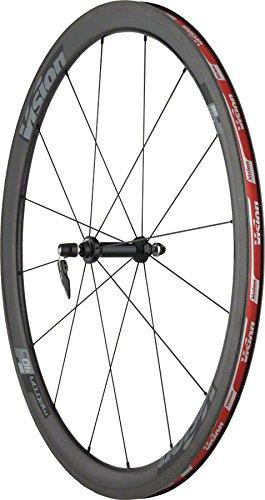 Vision Metron 40 SL 700C Clincher QR Old: F: 100 R: 130 Brake: Rim Pair 9/10/11SPD Wheel, 29