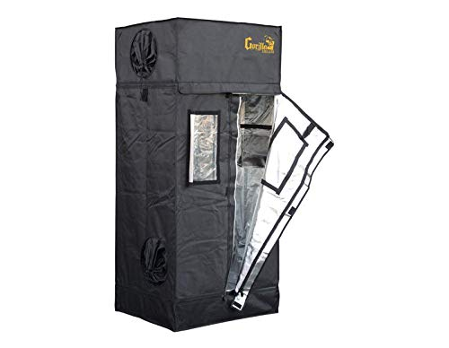 Too low to display indoor grow tent setup Gorilla LITE LINE Indoor 2×2.5 Grow Tent 2019