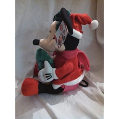 Disney Minnie Mouse Musical Animated Christmas Plush: Toys & Games