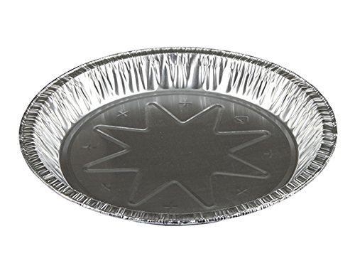 MYDEALS 8 inch Aluminum Round Foil Pie Pans Pack of 25 (8 inch) by MYDEALS