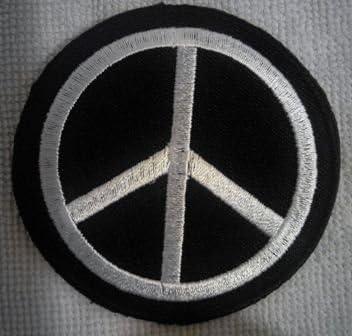 parches para ropa parches termoadhesivos parches rock parche bordado parches bordados parches peace sign 8 cm: Amazon.es: Hogar