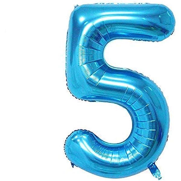 ShopVip Globos de cumpleaños - número 5 - Decoración ...