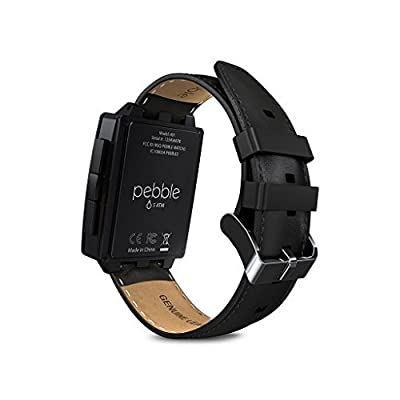 Pebble Steel Smart Watch for iPhone and Android Devices by Pebble