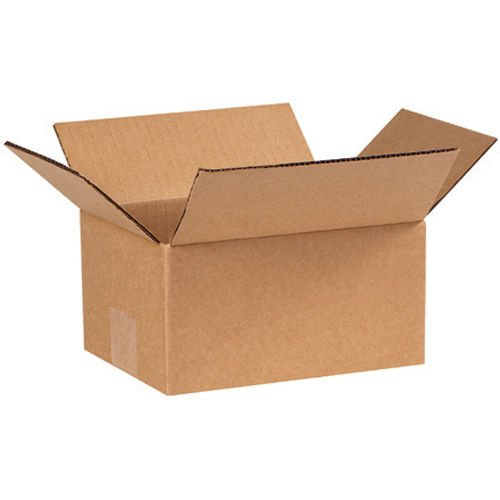 25 Boxes - 8x6x4 Carboard Shipping Boxes Packing - Hat Shipping Box