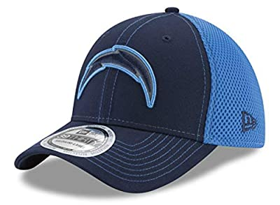 Los Angeles Chargers Medium/Large Flex Fit Hat Cap - Best Fits 7 1/4-7 5/8 - Team Colors