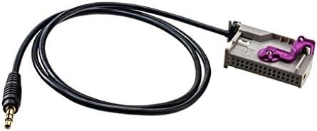 Audi A3 A4 A6 A8 に対応 カー AUX-IN RNS-E ナビゲーション 3.5mmジャック オーディオ ワイヤ ケーブル