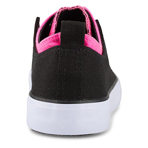 Sneaker Fashion Up In Pizzo Nero Kix Top E Doppia Torsione Donna Kle Twisted