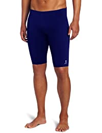 Sport Men's Solid Durafast Jammer Swim Suit