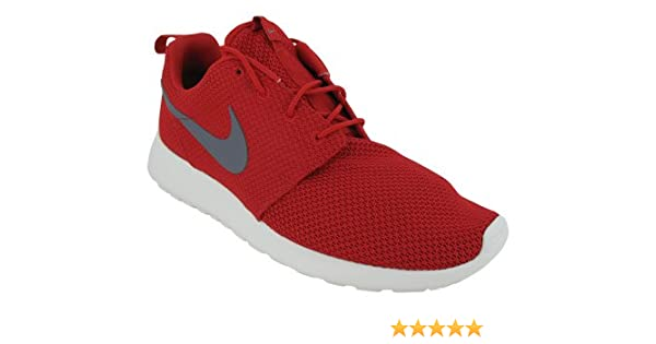 the latest 13586 95e61 Amazon.com  Nike Roshe Run Rosherun Red Grey Sail Mens Sportwear Running  Shoes 511881-601 US size 13  Road Running