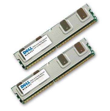 NEW DELL MADE GENUINE ORIGINAL RAM Upgrade 16GB (2 x 8GB) DDR2 SDRAM FB-DIMM 240-pin 667 MHz (PC2-5300) ECC 2 x memory - FB-DIMM 240-pin A2257216, (Ecc Sdram Dimm Module)