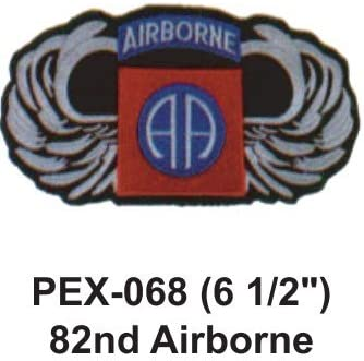 """173RD AIRBORNE Embroidered Military Extra Large Patch 6 1//2/"""""""