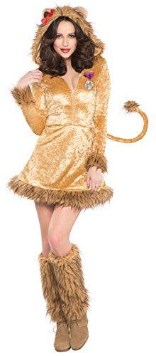 [Amscan International Adults Wild Lioness Costume (UK 8-10) by Amscan International] (Woman Lioness Costume)