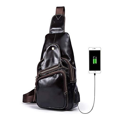 Poitrine café Réalimentation USB Paquet couleur De Cartable ZWS des La Hommes deep AZOwfq