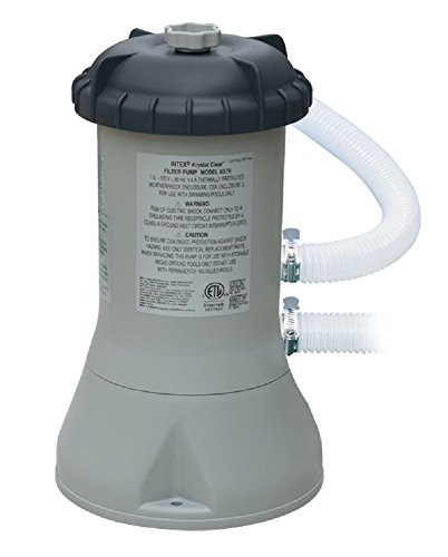 Pool Aqua Pump Filter Leisure - Intex 1000 GPH (Gallon Per Hour) Pool Filter Pump