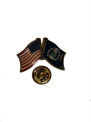 USA American U.S. Airforce Flag Bike Motorcycle Hat Cap lapel Pin Vivid Color and UV Fade Resistant Canvas Header and polyester material ()