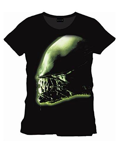 Alien Head Film T-Shirt M