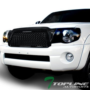 FRONT HOOD BUMPER GRILL GRILLE ABS 2005-2011 TOYOTA TACOMA (Abs Hood)