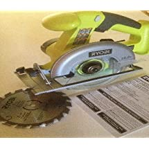 Ryobi One P501G 18V Cordless Circular Saw 5-1/2 inch (Bare Tool Only)