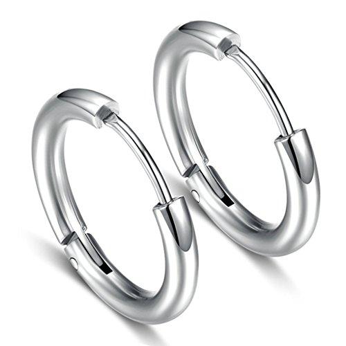 Mini Glass Square Earrings - 7